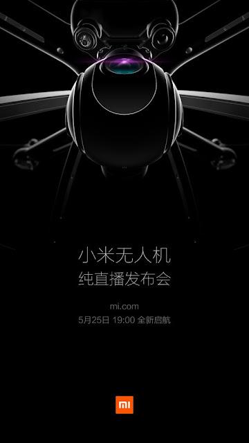"""شاومي تخطط للكشف عن طائرة """"مي درون"""" بدون طيار يوم 25 مايو"""