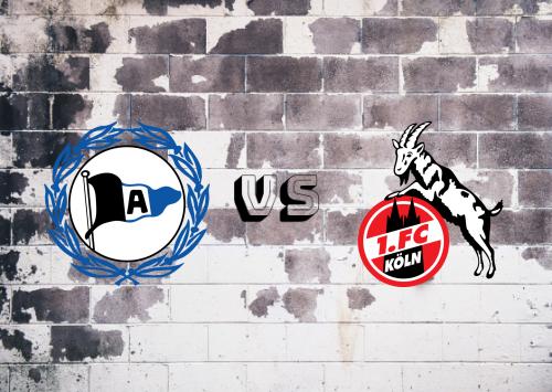 Arminia Bielefeld vs Köln  Resumen