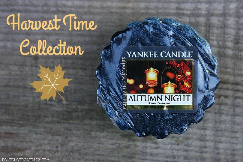 Yankee Candle Autumn Night - jesienny wieczór w męskim towarzystwie