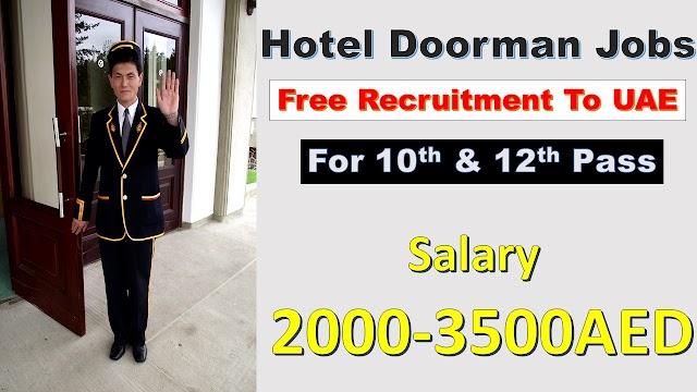 Bell Boy & Doorman Jobs in Dubai & UAE For Hotels Offering Good Salary