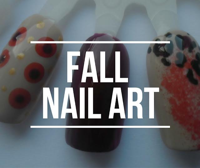 3 tutorials for Fall nails