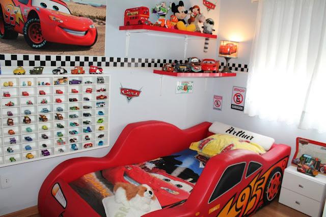 Camas en forma de carro - Dormitorios de cars ...