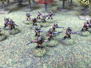Star Wars Rodians in 15mm