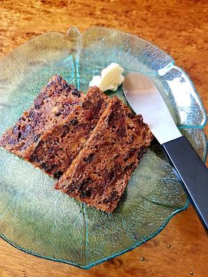 Welsh Tea Cake, no added fats.