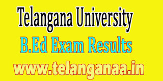 Telangana University B.Ed 1st Sem March 2016 Revaluation Results