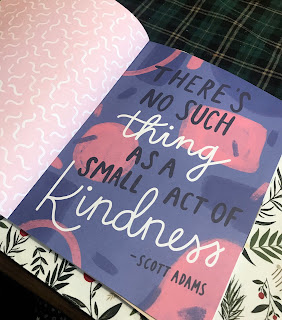 "Quote: ""No Such Thing as a Small Act of Kindness"""