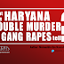 Opinion: What does Haryana double-murder and two gang rapes tell?