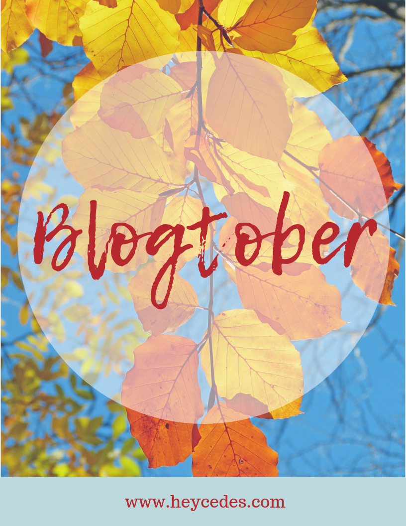 blogtober, october, fall