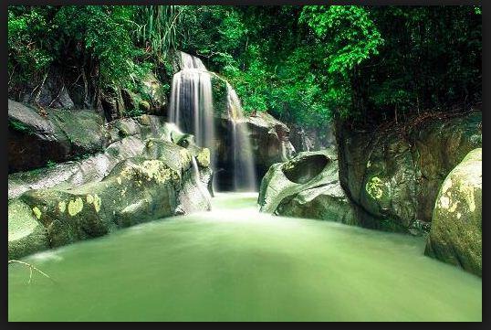 Air Terjun Nyarai Lubuk Alung Travel Pekanbaru