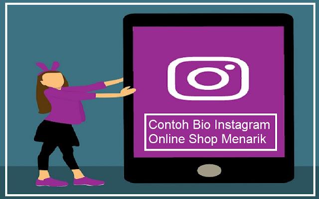 contoh bio instagram