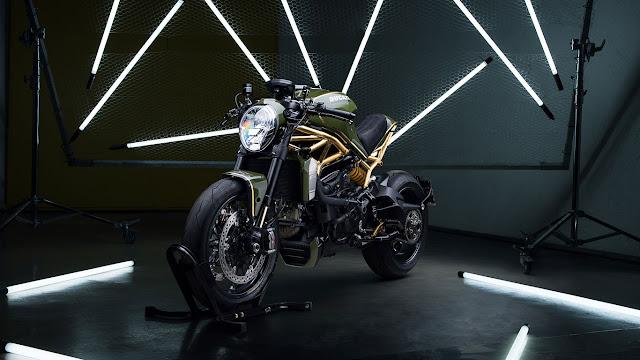 Ducati Monster 1200R By Diamond Atelier Hell Kustom