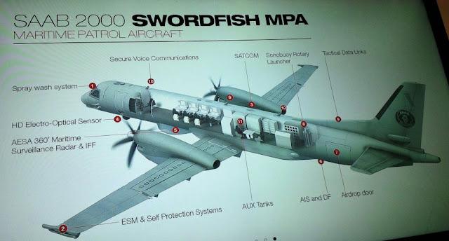SAAB : Pesawat UAV masih belum mampu gantikan peran pesawat MPA