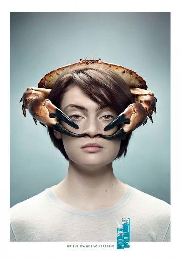 Реклама средства от заложенности носа