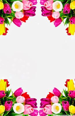 Invitación Elegante y Novedosa para Bodas Tulipanes Multicolor