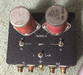 Altec 15095A MC Step Up Transformer Sut%2B5
