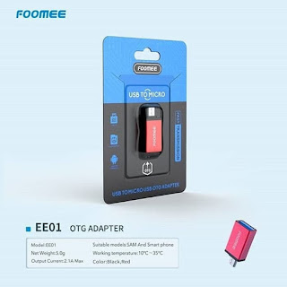 Foomee EE01 OTG Adapter Micro USB 2.0 Converter Micro Fast Transmision