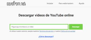youtube descargar video savefrom