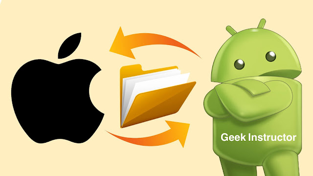 Share files between iPhone and Android offline