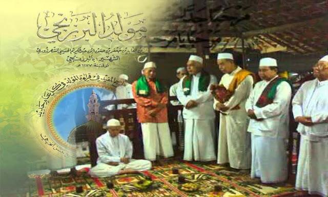 Kitab Al-Barzanji Dalam Tradisi Marhabanan