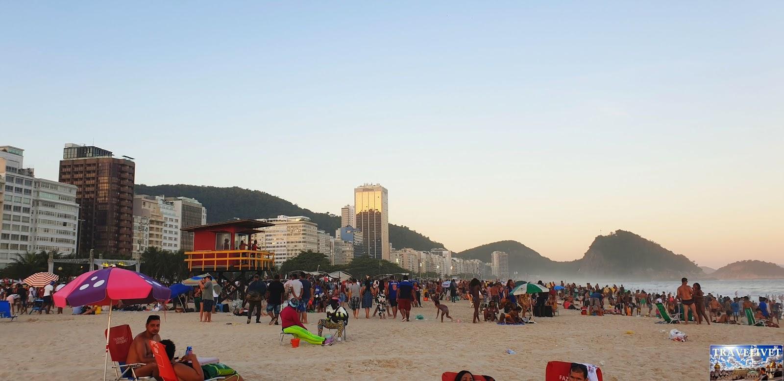 Brésil Rio de Janeiro plage Copacabana