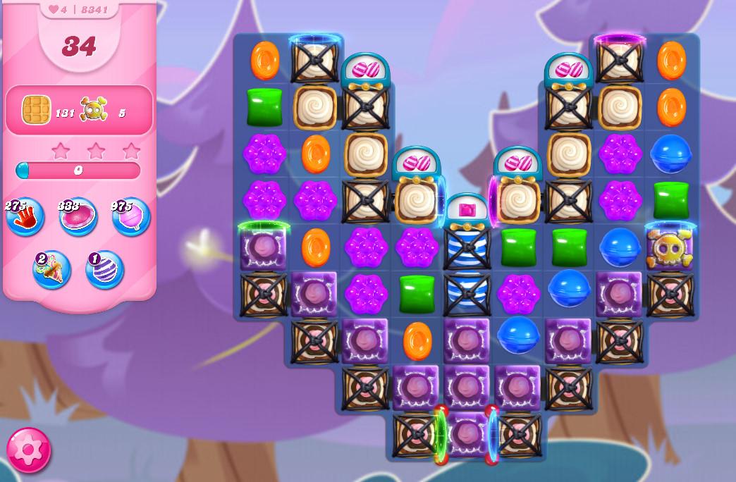 Candy Crush Saga level 8341