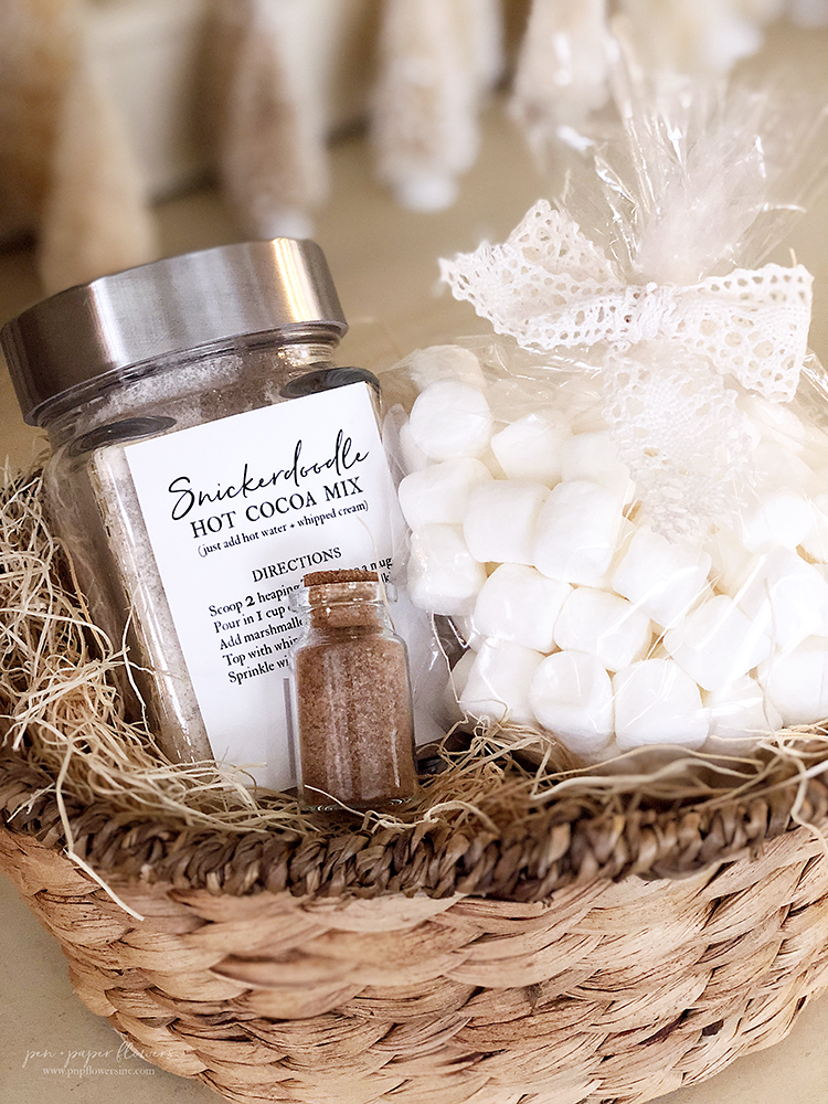 GIFT IDEA | Snickerdoodle Hot Cocoa Gift Package