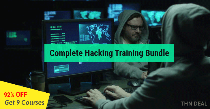 Get 9 Popular Online Hacking Training Course Package for ...