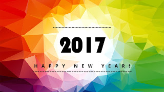 Abstract Picture of Happy New Year 2017