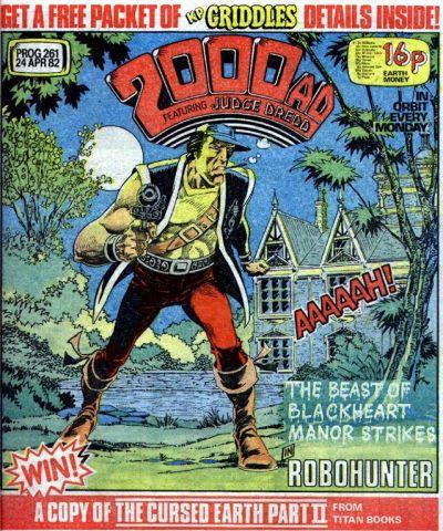 2000 AD Prog 261, Robo-Hunter