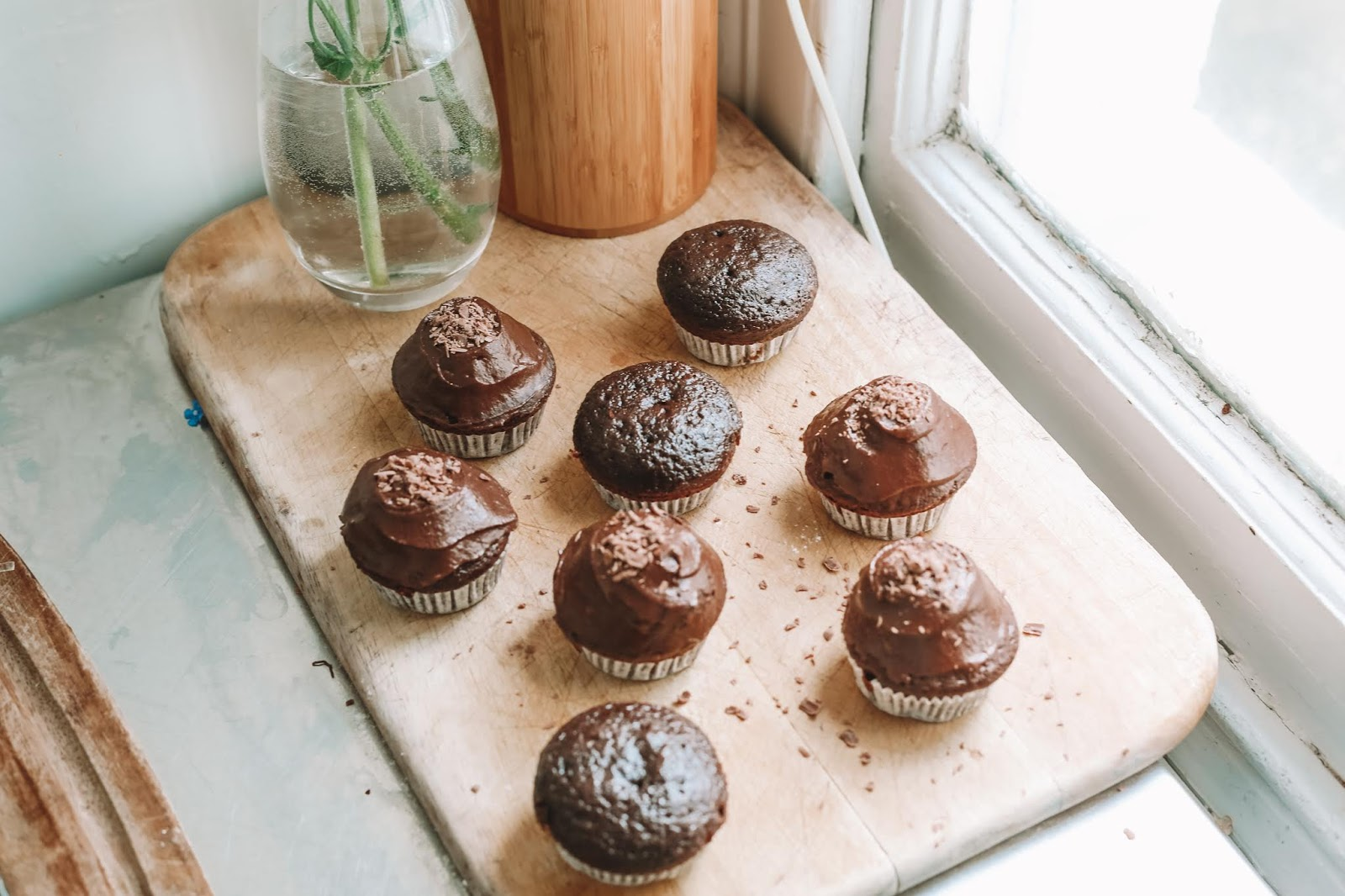 Rêveuse Recipe: The Best Chocolate Buttermilk Cupcakes