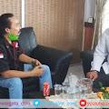 Pimpinan Redaksi Media Warga Temui GM PT Pelindo IV Cabang Parepare, ini yang Dibahas