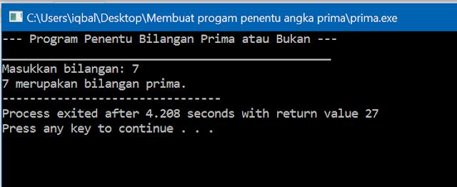 program penentu angka prima bahasa c