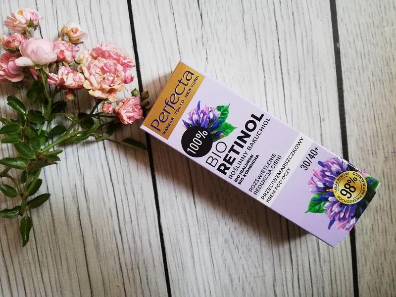 Perfecta Bio Retinol  Roślinny Bakuchiol przeciwzmarszczkowy krem pod oczy