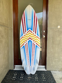Custom shaped surfboards by Paul Carter