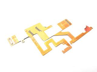 Fleksibel Power On Off Volume Caterpillar Cat S41 Original Flexible Cable