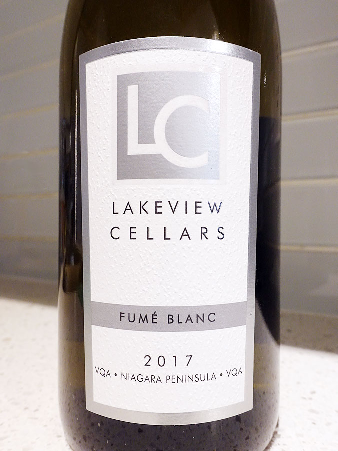 Lakeview Cellars Fumé Blanc 2017 (88 pts)