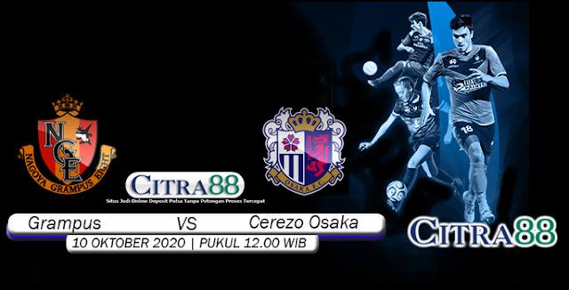 Prediksi Bola Grampus Vs Cerezo Osaka 10 Oktober 2020