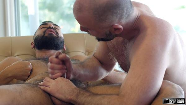 #Hairy and Raw - Adam James and Avi Strider