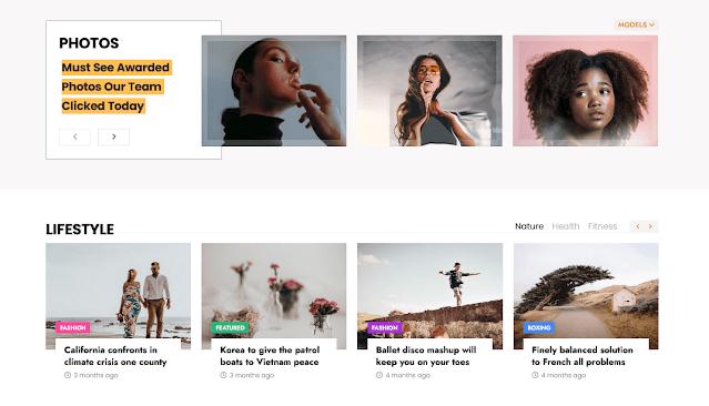 Story Mag - Blogger Premium  News & Magazine Template 5