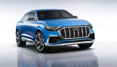 Audi Q8 SUV Concept Blue pics