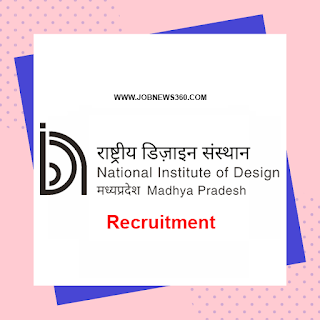 NID Madhya Pradesh Recruitment 2020 for Faculty & Technical Staffs