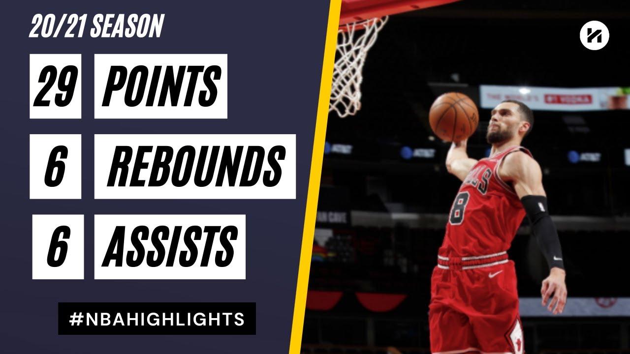 Zach LaVine 29pts 6reb 6ast vs SAS | March 17, 2021 | 2020-21 NBA Season