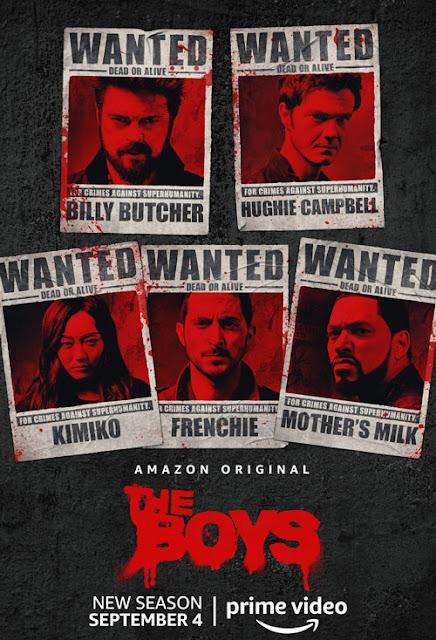 Cartel segunda temporada 'The Boys'