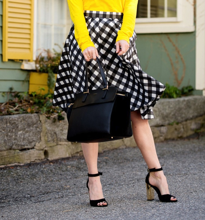 Talbots plaid skirt