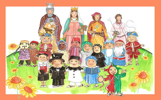 Resultado de imagen de dibujo fiesta mayor