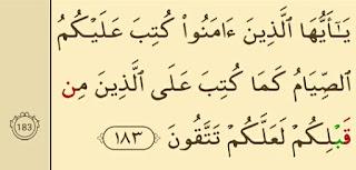 Al Baqarah ayat 183