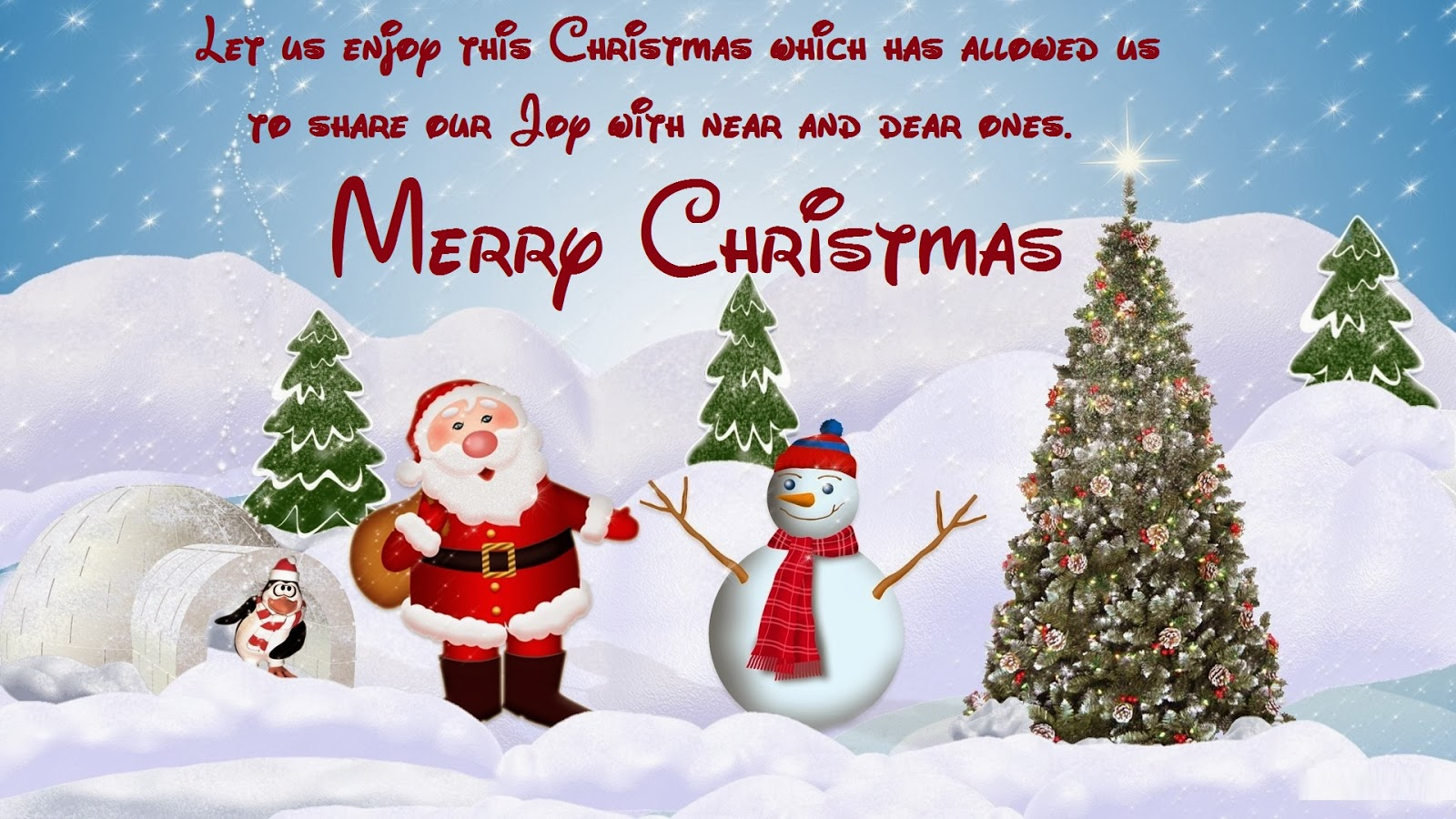 Happy Christmas Day Sms/Msg 2017 - Christmas Day Whises Wallpapers