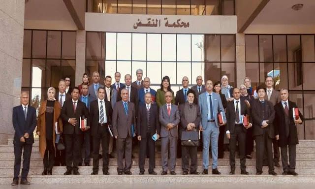 المجلس الأعلى للسلطة القضائية : عقد 330 جلسة عن بعد وإدراج 5006 قضايا بمختلف محاكم المملكة منذ انطلاق عملية التقاضي عن بعد✍️👇👇👇
