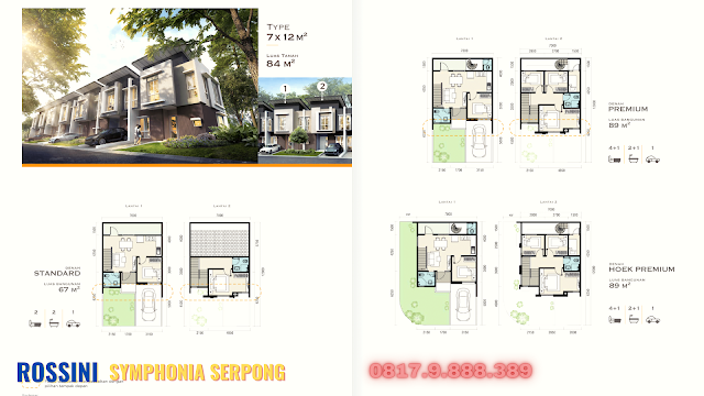 layout rossini serpong