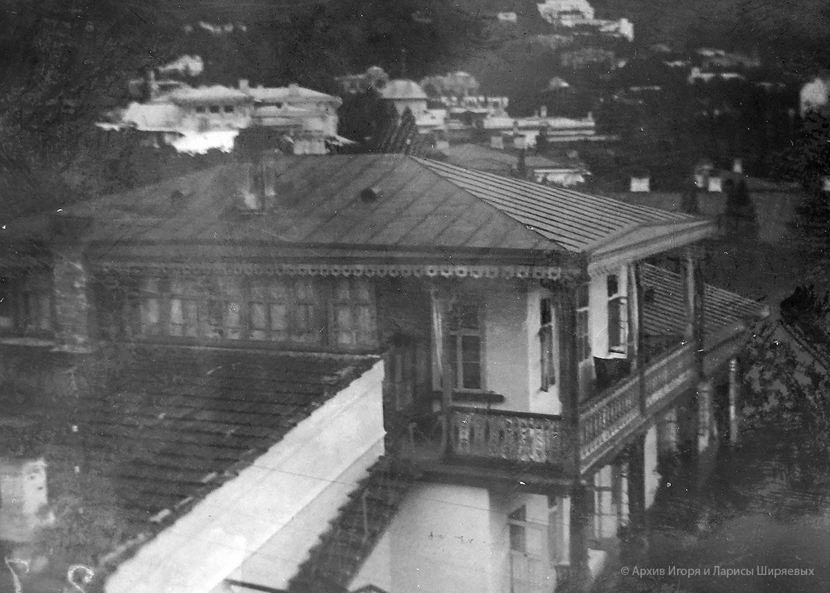 Старое фото Крыма. Дом